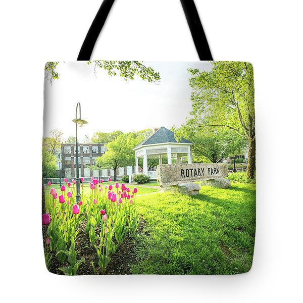 Sunrise At Rotary Park Tote Bag