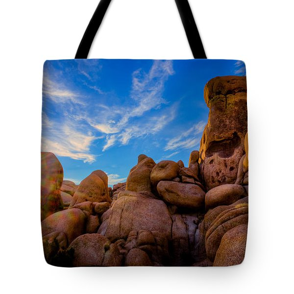Tote Bag featuring the photograph Sunrise At Skull Rock by Rikk Flohr