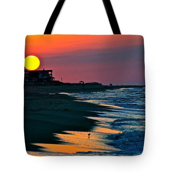 Sunrise At St. George Island Florida Tote Bag