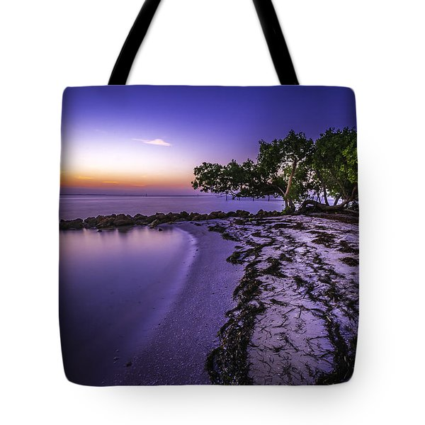 End Of The Beach Tote Bag