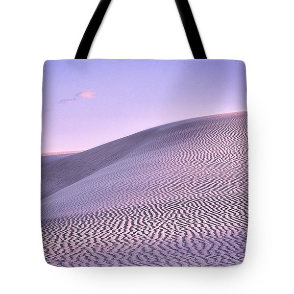 Sunrise At White Sands Tote Bag