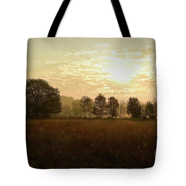 Sunrise Autumn Equinox 2017 Tote Bag