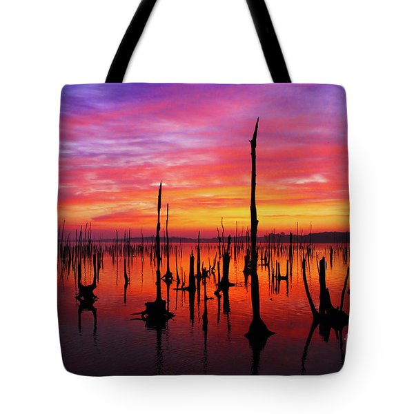 Sunrise Awaits Tote Bag