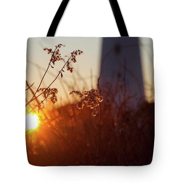 Sunrise Backlight Tote Bag