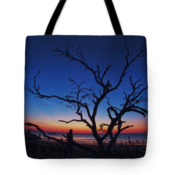 Sunrise Beach Tote Bag