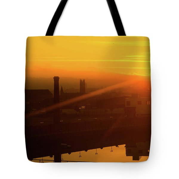 Sunset Belfast Tote Bag