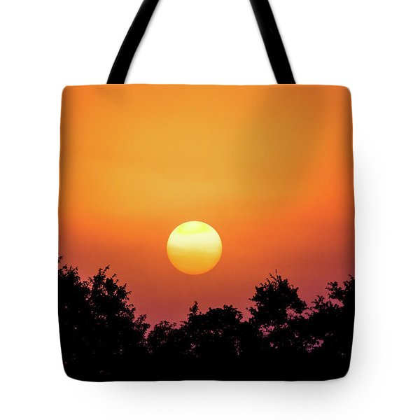 Tote Bag featuring the photograph Sunrise Bliss by Shelby Young