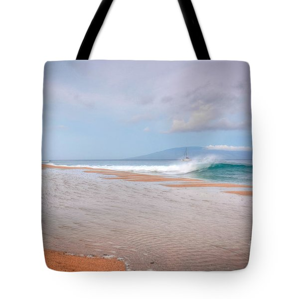 Tote Bag featuring the photograph Sunrise Break by Kelly Wade