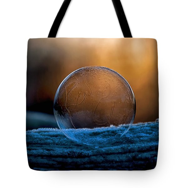 Sunrise Capture In Bubble Tote Bag