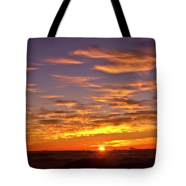 Sunrise Cloud Migration Tote Bag