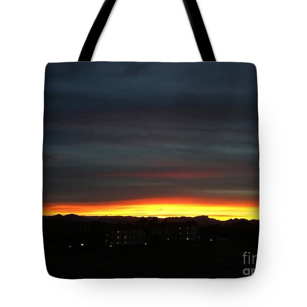 Sunrise Collection, #5 Tote Bag