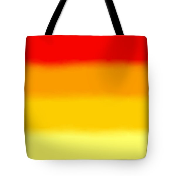 Sunrise - Sq Block Tote Bag