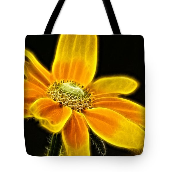 Sunrise Daisy Tote Bag