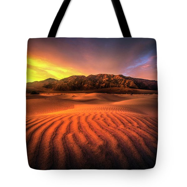 Sunrise-death Valley Tote Bag