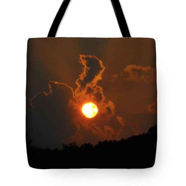 Tote Bag featuring the photograph Sunrise by Diannah Lynch