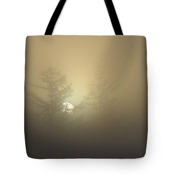 Sunrise Fogged - 1 Tote Bag