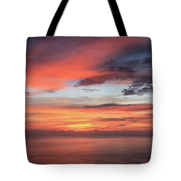 Sunrise From Koko Head Tote Bag