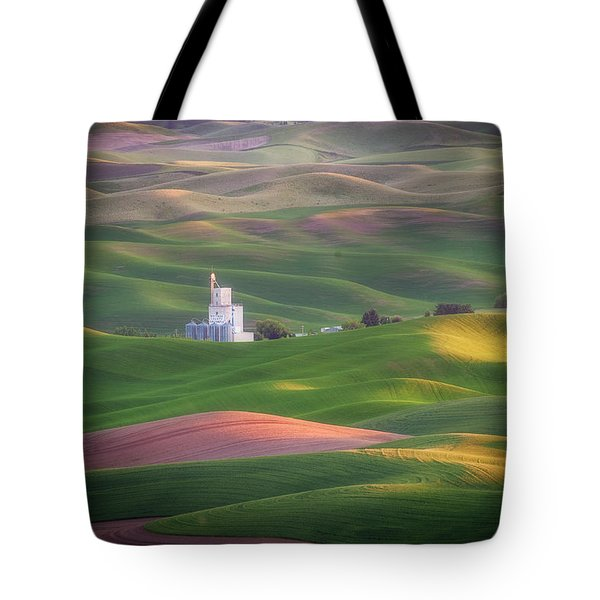 Sunrise From Steptoe Butte. Tote Bag
