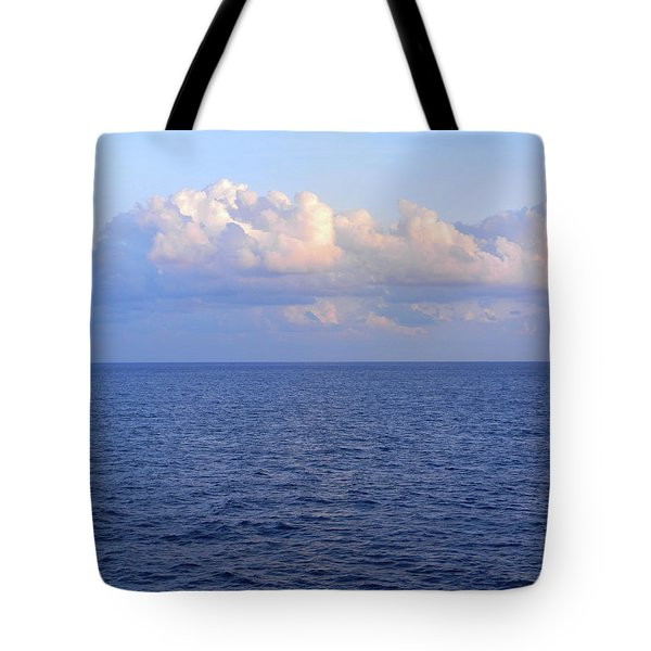 Sunrise From The Atlantic Ocean Tote Bag