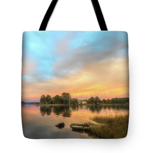 Sunrise, From The West Tote Bag