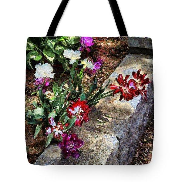 Sunrise Garden Tote Bag by RC deWinter