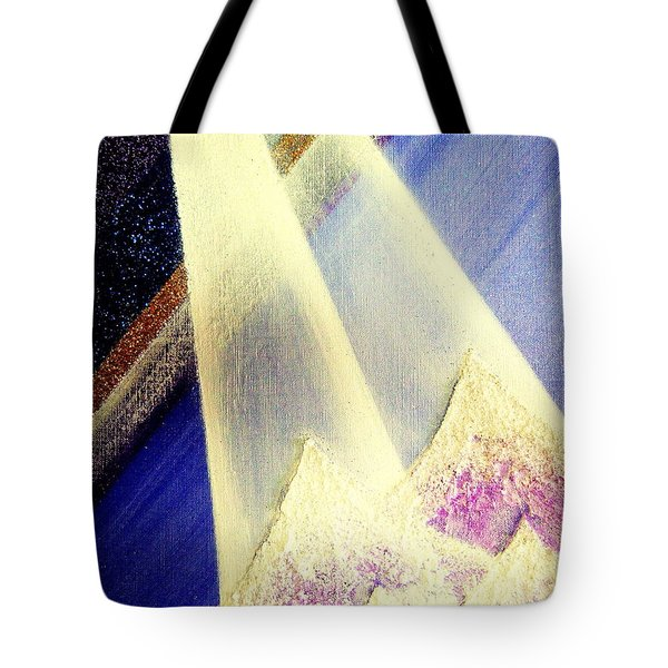 Sunrise  In Alpine Tote Bag