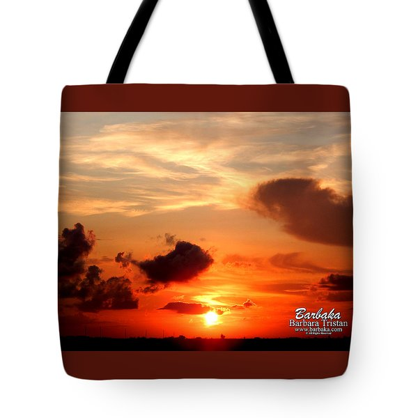 Sunrise In Ammannsville Texas Tote Bag