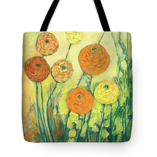 Sunrise In Bloom Tote Bag