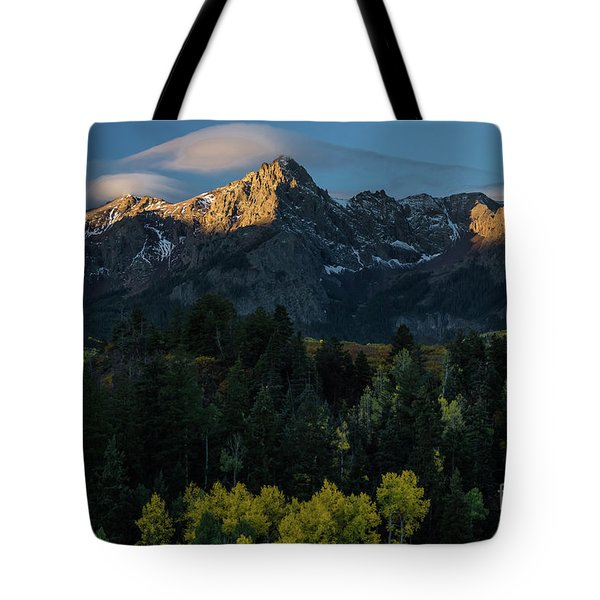 Sunrise In Colorado - 8689 Tote Bag