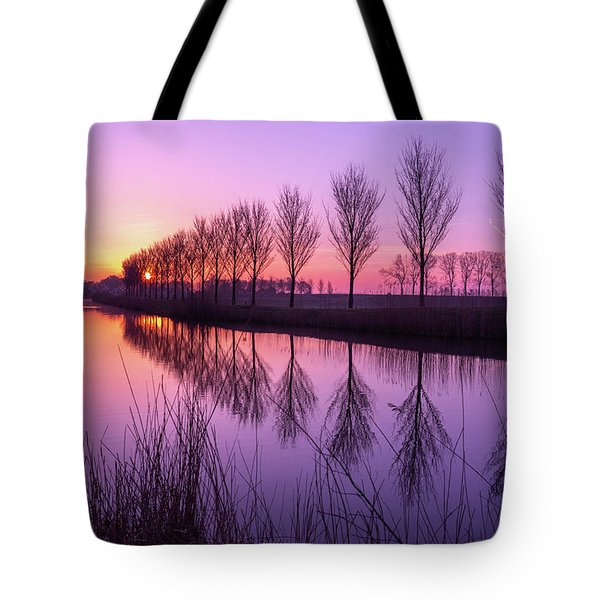 Sunrise In Holland Tote Bag
