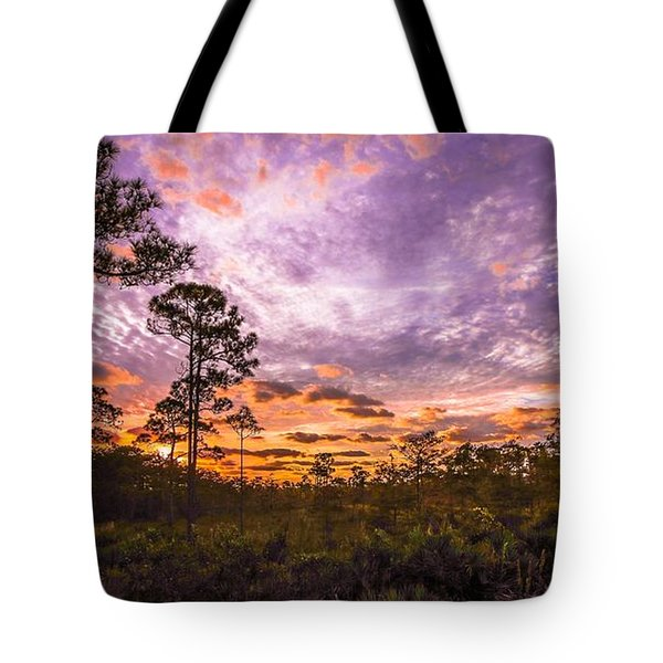Sunrise In Jd Tote Bag