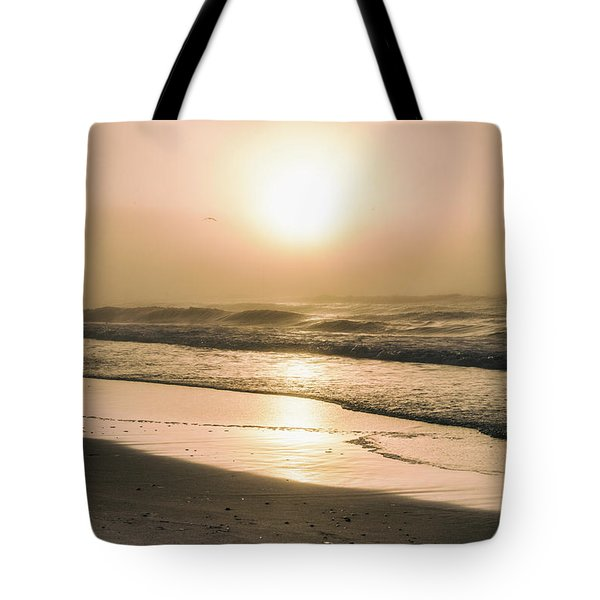 Tote Bag featuring the photograph Sunrise In Orange Beach  by John McGraw
