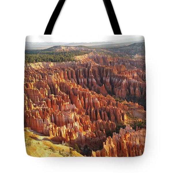 Sunrise In The Canyon Tote Bag