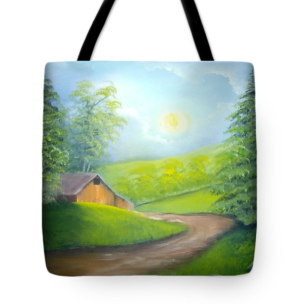 Sunrise In The Country Tote Bag