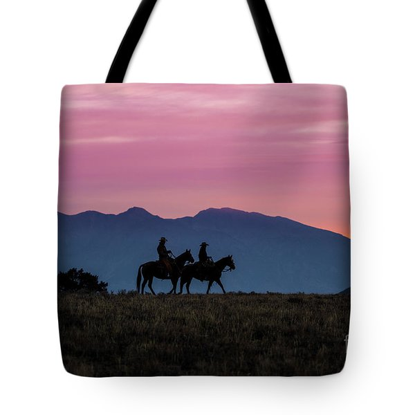 Sunrise In The Lost River Range Wild West Photography Art By Kay Tote Bag