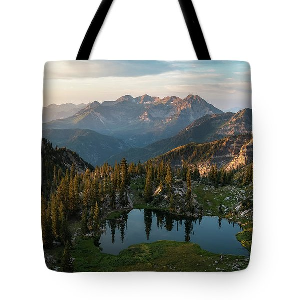 Sunrise In The Wasatch Tote Bag