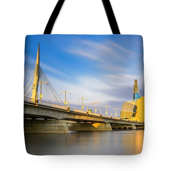 Sunrise In Winnipeg Tote Bag
