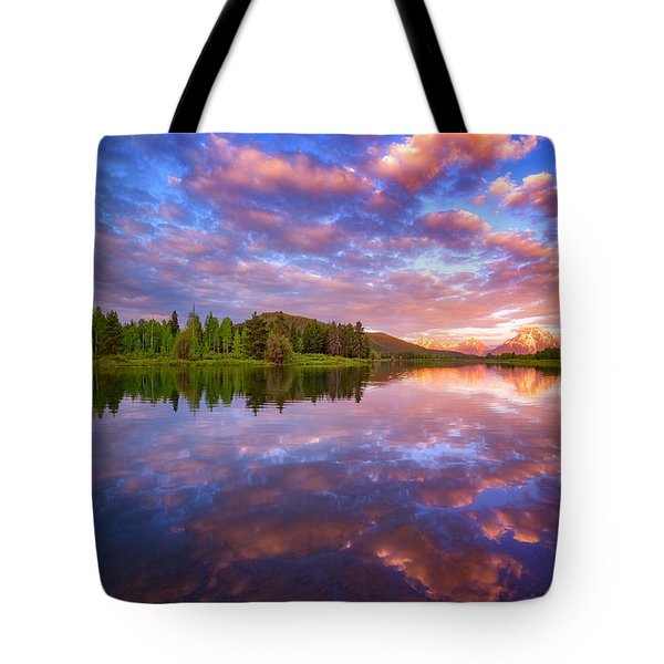 Sunrise Kiss Tote Bag