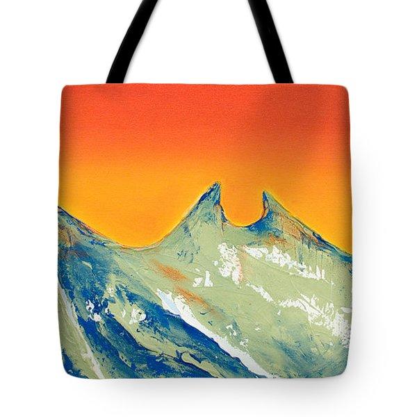 Sunrise La Silla Tote Bag