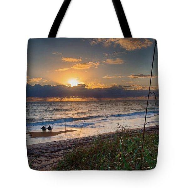 Sunrise Love Tote Bag
