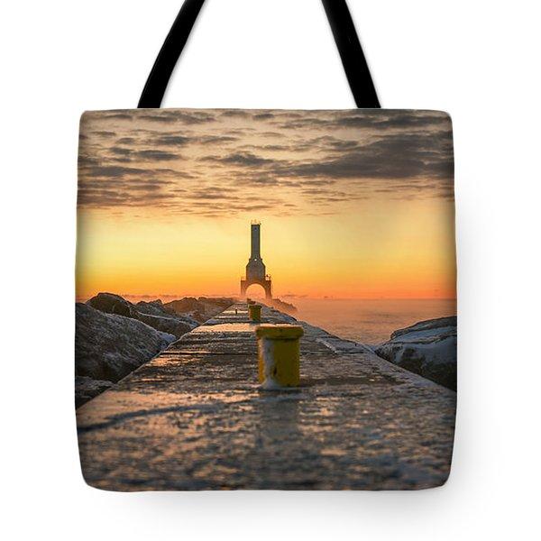 Sunrise Magic Tote Bag