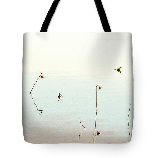 Sunrise Minalism Tote Bag by Carolyn Dalessandro