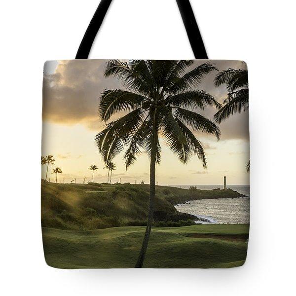 Sunrise Ninini Point, Kauai Tote Bag