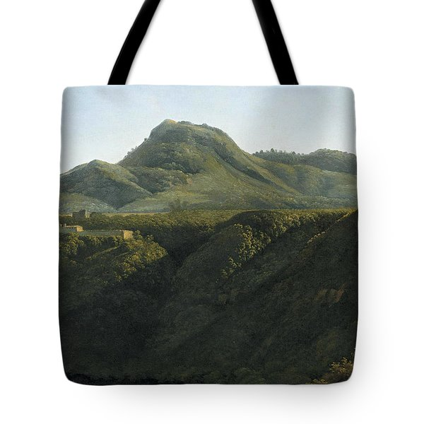 Sunrise On An Italian Landscape Tote Bag