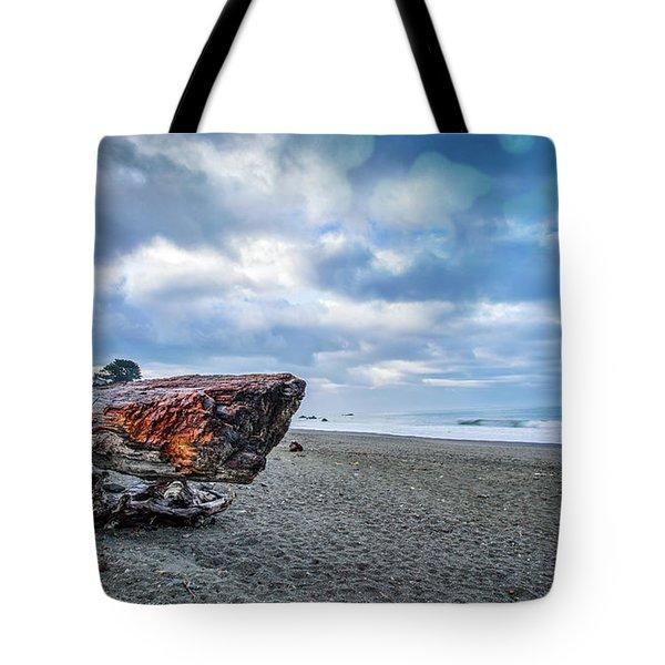 Sunrise On Brookings Tote Bag