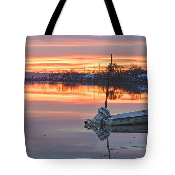 Sunrise On Christmas Day Tote Bag