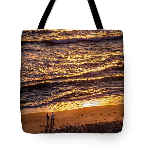 Sunrise On Melbourne Beach Tote Bag