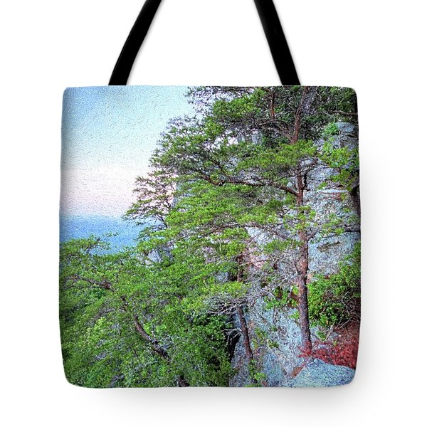 Tote Bag featuring the photograph Sunrise On Mount Cheaha by JC Findley