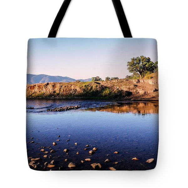 Sunrise On Nariel Creek Tote Bag