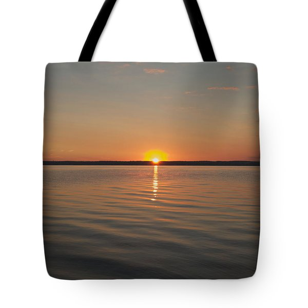 Sunrise On Seneca Lake Tote Bag by William Norton